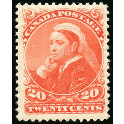 canada stamp 46 queen victoria 20 1893 m vf 002