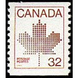 Canada stamp 951 maple leaf 32 1983