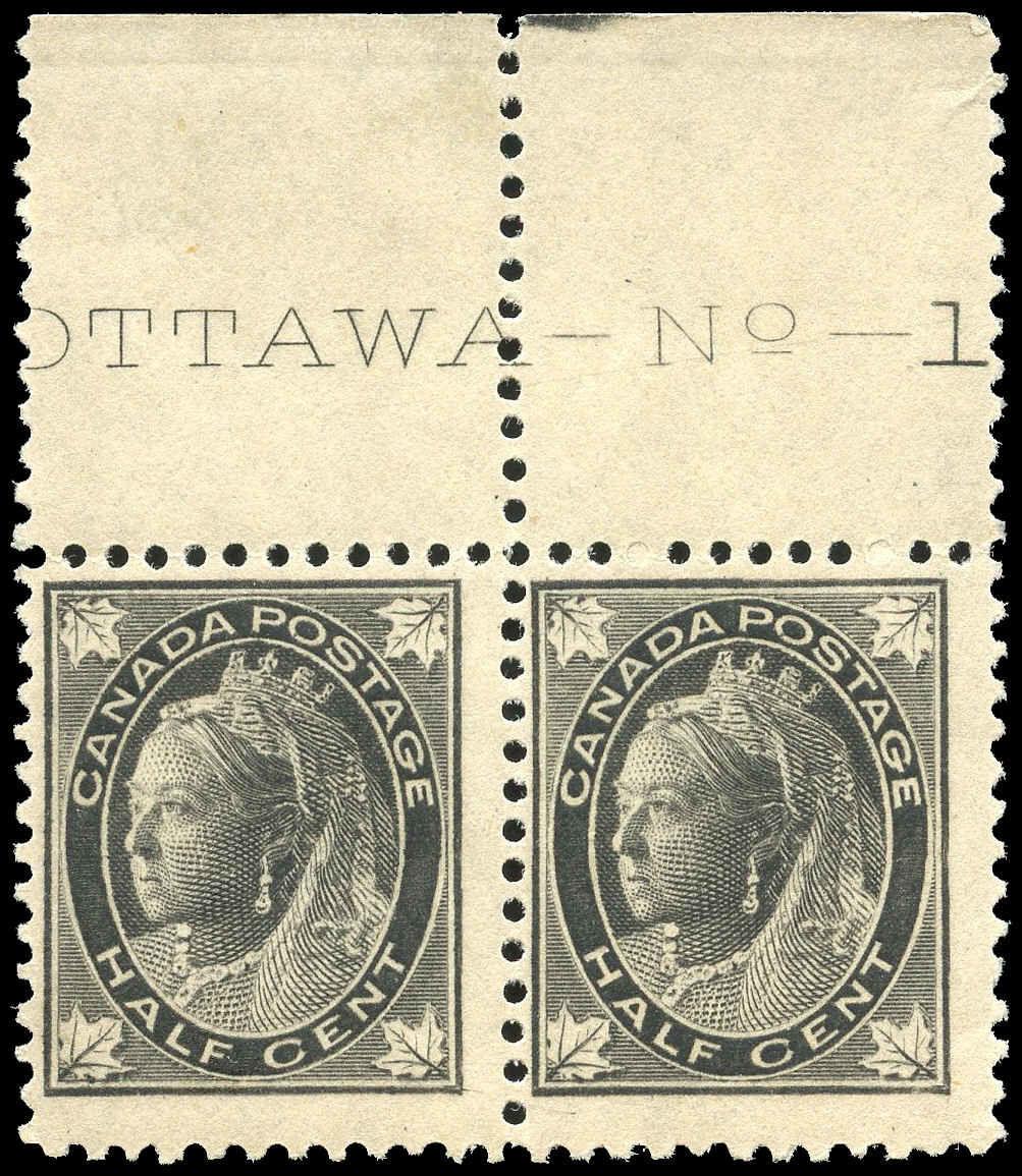 Buy Canada #66 - Queen Victoria (1897) ½¢   Arpin Philately