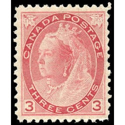 Canada stamp 78 queen victoria 3 1898 m vfnh 001