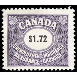 canada revenue stamp fu81 unemployment insurance stamps 1 72 1960