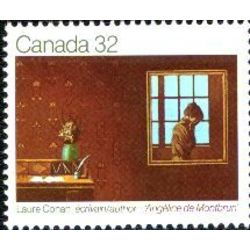 canada stamp 978 laure conan author 32 1983