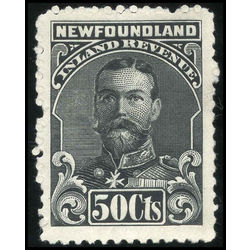 canada revenue stamp nfr19a king george v 50 1910