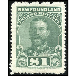 canada revenue stamp nfr20 king george v 1 1910