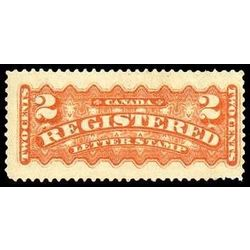 canada stamp f registration f1v registered stamp 2 1875