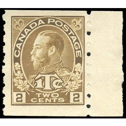 canada stamp mr war tax mr7a war tax coil 1916 m fng 001