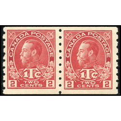 canada stamp mr war tax mr6iipa war tax coil pair 1916 m vfnh 001