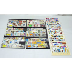 432 different complete sets and souvenir sheets mint never hinged from 55 different countries