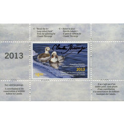 canadian wildlife habitat conservation stamp fwh30d long tailed duck 8 50 2013