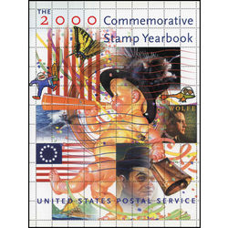2000 usps commemorative stamp collection