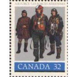 Canada stamp 1043 pilots in flying dress 32 1984