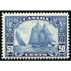 Canada stamp 158 bluenose 50 1929 m fnh 006