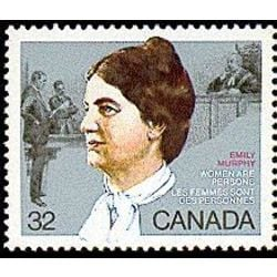 Canada stamp 1048 emily murphy 32 1985