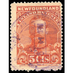 canada revenue stamp nfr16 king george v 5 1910