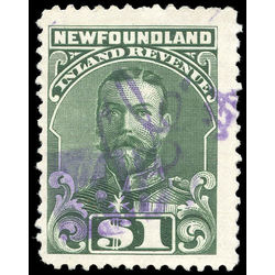 canada revenue stamp nfr25 king george v 1 1910