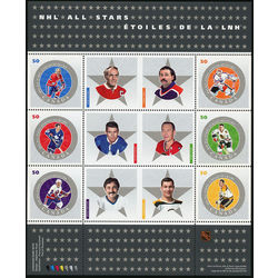 Canada stamp 2085 nhl all stars 6 2005