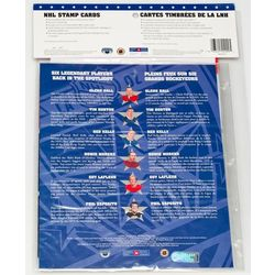 Nhl all stars stamp cards third issue
