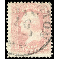 us stamp postage issues 64b george washington 3 1861 u 001