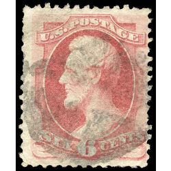 us stamp postage issues 137 lincoln 6 1870 u 001