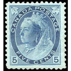Canada stamp 79 queen victoria 5 1899 m vf 002