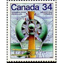 Canada stamp 1102 variable pitch propeller 34 1986