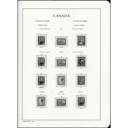 lighthouse canada hingeless stamp album blue
