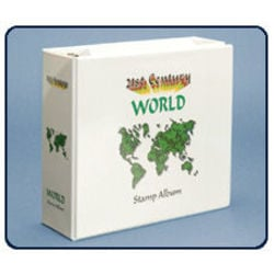 extra binder for 21st century world stamp album