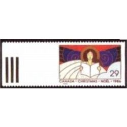 Canada stamp 1116 christmas angels 29 1986