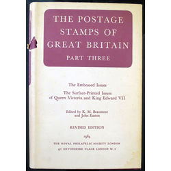 the postage stamps of great britain part three revised edition by beaumont easton 1964 used