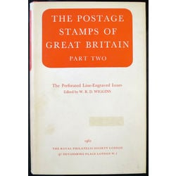 the postage stamps of great britain part two revised edition by wiggins 1962 used