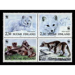 finland stamp 907 world wildlife fund 1993