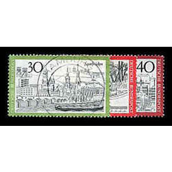 Germany stamp 1106 09 10 town type of 1969 1973