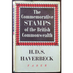 The commerative stamps of the british commonwealth by haverbeck first printing 1955 used