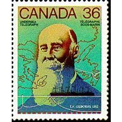 Canada stamp 1138 f n gisborne undersea cable 1852 36 1987