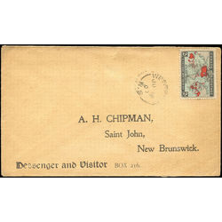 canada stamp 86 christmas map of british empire 2 1898 cover u f
