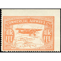 canada stamp c air mail cl50d commercial airways ltd air fee 10 1930
