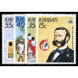 kiribati stamp 500 3 red cross 1988