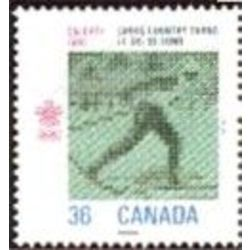 Canada stamp 1152 cross country skiing 36 1987