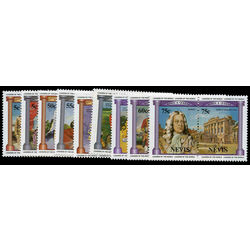 nevis stamp 258 66 british monarchy 1984