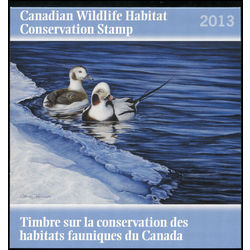 canadian wildlife habitat conservation stamp fwh30 long tailed duck 8 50 2013 d66590f7 b171 421f b72f 992e88caf57f