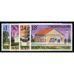 norfolk island stamp 283 6 royal wedding 1981