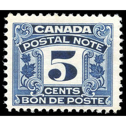 canada revenue stamp fps7 postal note scrip first issue 5 1932
