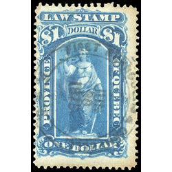 canada revenue stamp ql24 law stamps 1 1871