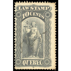 canada revenue stamp ql32 law stamps 10 1893