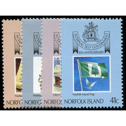 norfolk island stamp 457 60 self govermment 10th anniv 1989