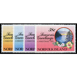 norfolk island stamp 510 3 christmas 1991