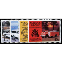norfolk island stamp 534 7 emergency services 1993