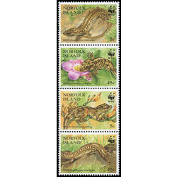 norfolk island stamp 596 world wildlife fund 1996