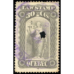 canada revenue stamp ql34 law stamps 30 1893