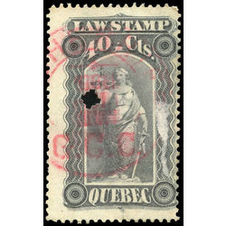 canada revenue stamp ql35 law stamps 40 1893